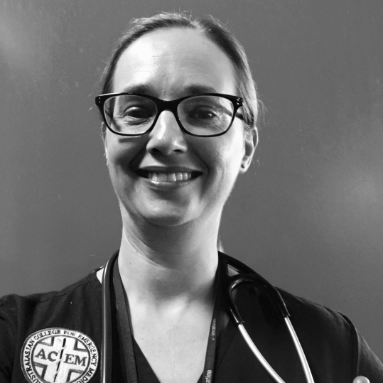 Dr Allison Fifoot - Emergency Physician, The Prince Charles Hospital, Brisbane.