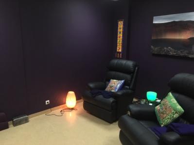 sofas and light